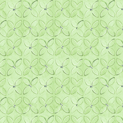 WILD THINGS GEOMETRIC FLOWER Green (FA-23622-H)
