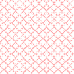 SORBETS 1649 23688 P MEDALLION PINK WHITE