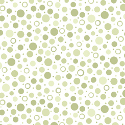SORBETS DOTS - LIGHT FERN GREEN