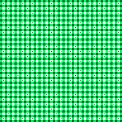 Sorbet Essentials GINGHAM GREEN