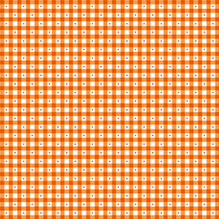 Sorbet Essentials GINGHAM ORANGE