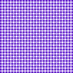QT Fabrics - Sorbet Essentials GINGHAM PURPLE 23691 V