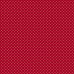 :Q T Fabrics Sorbet Essentials MINI DOT RED 1649 - 23692 - R