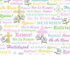 A Joyful Easter by Quilting Treasures (1649 ? 23719 ? Z)