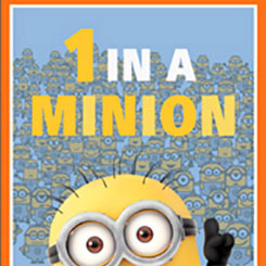 1 IN A MINION 1 IN A MINION PANEL DUSTY BLUE