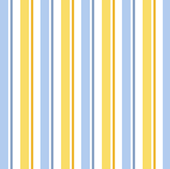 1 IN A MINION STRIPE BLUE