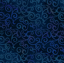 Ombre Scroll OMBRE SCROLL NAVY