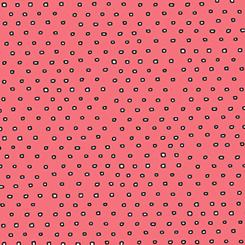 Pixie Dots DARK SALMON