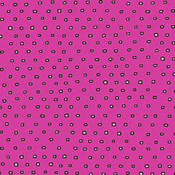 Pixie Dots Square Dot Blender - Hot Pink
