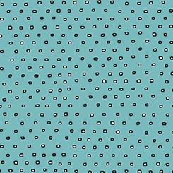 Pixie Dots Dark Aqua Square Dot Blender