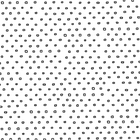 Square Dot Blender Fabric - White Pixie Dots Collection by QT Fabrics