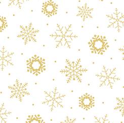 Metals SNOWFLAKE WHITE/GOLD