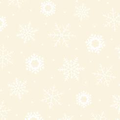 Quilting Illusions SNOWFLAKE ECRU/WHITE