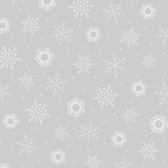 Quilting Illusions SNOWFLAKE GRAY