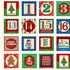 Quilting Treasures Santa Comes to Town