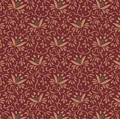 Bristol Floral Vine Scroll Wine