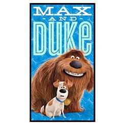 SECRET LIFE OF PETS MAX & DUKE PANEL(24)
