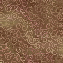 24775 A Ombre Scroll 108 Wide OMBRE SCROLL WIDE SABLE