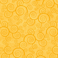 Harmony - Cotton CURLY SCROLL SUNFLOWER