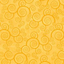 CURLY SCROLL - Sunflower