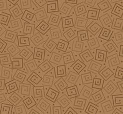 HARMONY - COTTON SQUARES Toffee 24779ea