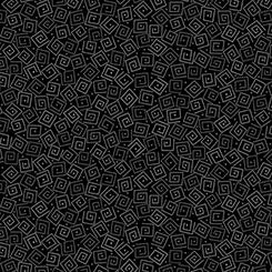 Black Harmony - Cotton Squares