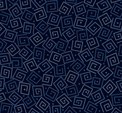 HARMONY COTTON SQUARES Navy 24779 N