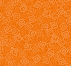 Quilting Treasures Harmony Flannel 24779-OFLN SQUARES CARROT
