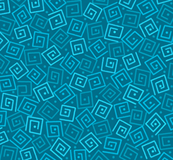 Quilting Treasures Harmony Flannel 24779-QFLN SQUARES DEEP OCEAN