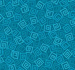 Harmony - Cotton SQUARES DEEP OCEAN