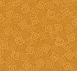 Harmony - Cotton SQUARES AMBER