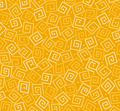 Quilting Treasures Harmony Flannel 24779-SFLN SQUARES MARIGOLD