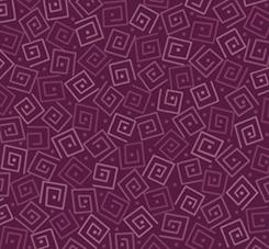 Harmony Flannel - Squares on Plum