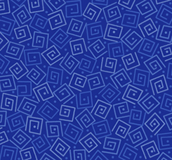 Quilting Treasures Harmony Flannel 24779-YFLN SQUARES ROYAL