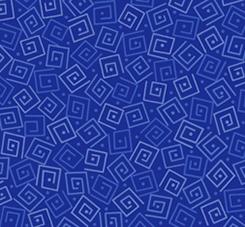 Harmony - Cotton SQUARES ROYAL