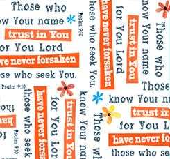 TRUST IN YOU PSALMS 24822-Z