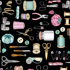 Quilting Treasures-Cute as a Button  24826-J