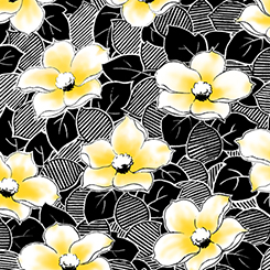 FIONA CONTEMPO FLOWER & LEAVES