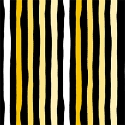 FIONA BLK AND YELLOW STRIPE