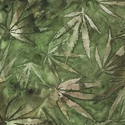 CANNABIS Fabric by the Yard