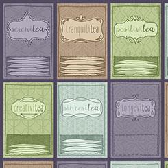 TEA-RRIFIC TEA PACKETS SET PURPLE