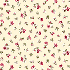 COVENTRY SPACED FLORAL CREAM