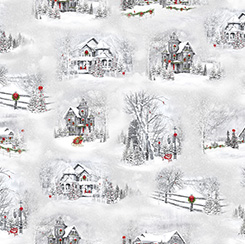HOME FOR THE HOLIDAYS CHRISTMASTIME WINTER SCENIC VIGNETTES