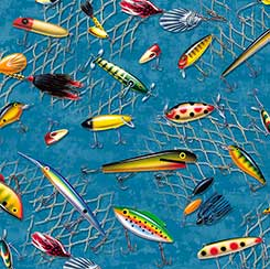 SO MANY FISH, SO LITTLE TIME FISHING LURES