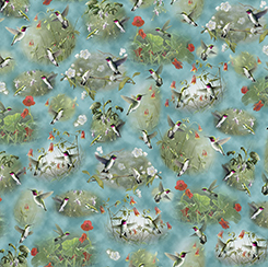 HUMMINGBIRDS HUMMINGBIRD SCENIC