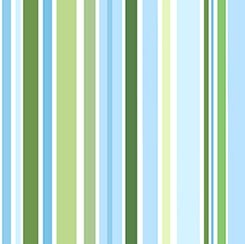Blue Stripe | Who Let The Hogs Out Fabric by QT Fabrics