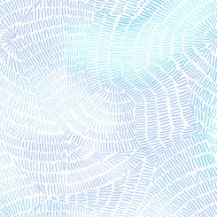 Ombre Stitches - Soft Blue - by QT Fabrics