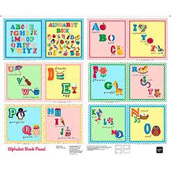 Sew & Go II - Alphabet Book Panel