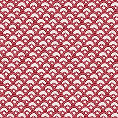 Winter Garden - Red Scallop