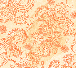Soiree 1649-26273-S<br>Paisley Pale Orange